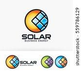 solar  sun  energy  electrical. ... | Shutterstock .eps vector #559786129