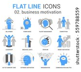 infographics icons collection... | Shutterstock .eps vector #559788559