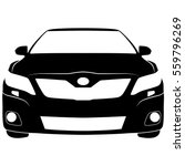 vector isolated car sign