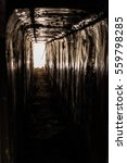 Small photo of Tunnel in abounded Soviet base