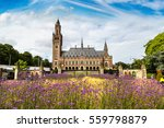 Peace Palace In Hague  Seat Of...