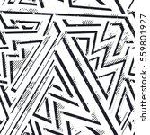 monochrome grunge geometric...   Shutterstock .eps vector #559801927