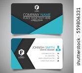 blue fold modern creative... | Shutterstock .eps vector #559806331