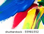 mixing paints. background | Shutterstock . vector #55981552