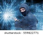 hacker stealing data | Shutterstock . vector #559822771