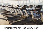 modern gym interior with... | Shutterstock . vector #559827859