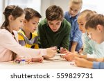 education  children  technology ... | Shutterstock . vector #559829731