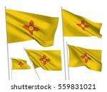 usa new mexico vector flags. a... | Shutterstock .eps vector #559831021