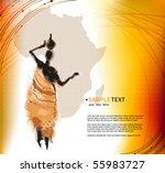 vector beautiful background... | Shutterstock .eps vector #55983727