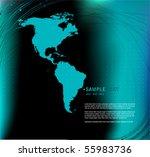 vector elegant abstract...   Shutterstock .eps vector #55983736