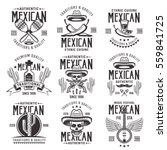 mexican national attributes ... | Shutterstock .eps vector #559841725