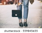 fall fashion outfit details.... | Shutterstock . vector #559845655
