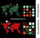 infographics | Shutterstock .eps vector #559866964