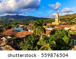 View Over The City Trinidad On...