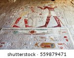 Ancient Mural In Valley Of The...