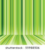 Striped Background In Green...