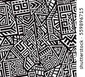 unique geometric vector... | Shutterstock .eps vector #559896715
