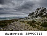 Stiperstones Hills In The...
