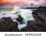 hook head lighthouse  hook head ... | Shutterstock . vector #559923439
