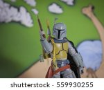 a custom painted 'star wars... | Shutterstock . vector #559930255