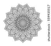 mandala. ethnic round ornament. ... | Shutterstock .eps vector #559935517