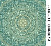 mandala. ethnic round ornament. ... | Shutterstock .eps vector #559935547