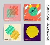 art geometric shape logo design ... | Shutterstock .eps vector #559938049