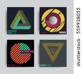 art geometric shape logo design ... | Shutterstock .eps vector #559938055
