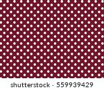 red white dots pattern | Shutterstock .eps vector #559939429