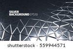steel background. vector silver ... | Shutterstock .eps vector #559944571