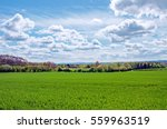 British Countryside Scenery In...
