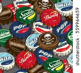seamless retro   classic... | Shutterstock .eps vector #559964659