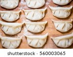 process of making ravioli ... | Shutterstock . vector #560003065