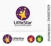 little star  kid  children ... | Shutterstock .eps vector #560007829