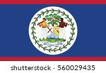 flag of belize. vector.... | Shutterstock .eps vector #560029435