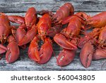 Steamed New England Lobsters ...