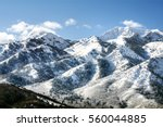 Utah Wasatch Mountains In Ogde...