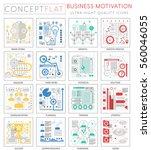 infographics mini concept...   Shutterstock .eps vector #560046055