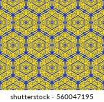 modern geometric seamless... | Shutterstock .eps vector #560047195