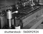 sheet metal stamping tool die... | Shutterstock . vector #560092924