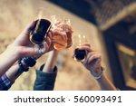 craft beer booze brew alcohol... | Shutterstock . vector #560093491
