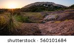 Sunrise At Enchanted Rock In...