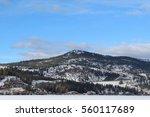Winter Landscape Panoramic Vie...