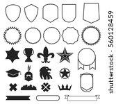 emblems elements badge style... | Shutterstock .eps vector #560128459