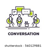 vector business illustration of ... | Shutterstock .eps vector #560129881
