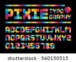 vector of stylized colorful... | Shutterstock .eps vector #560150515
