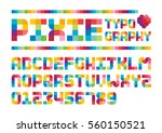 vector of stylized colorful... | Shutterstock .eps vector #560150521