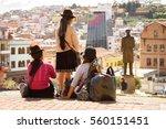 quito  ecuador   jan 2  2015 ... | Shutterstock . vector #560151451