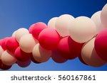 balloon decoration   an arch... | Shutterstock . vector #560167861