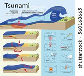 the info graphic is showing how ... | Shutterstock .eps vector #560168665